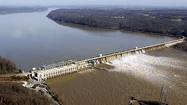 The Conowingo Dam.