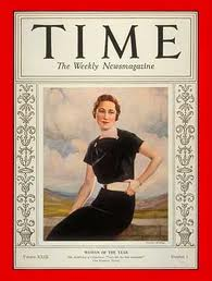 Cover of TIME. Not bad for a crabtown girl.
