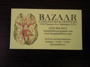 BazaarBusinesscard